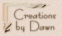 Creations by Dawn